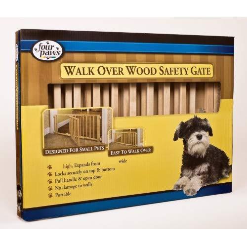 Walk-Over Wood Gate W/ Door(Pack Of 1)