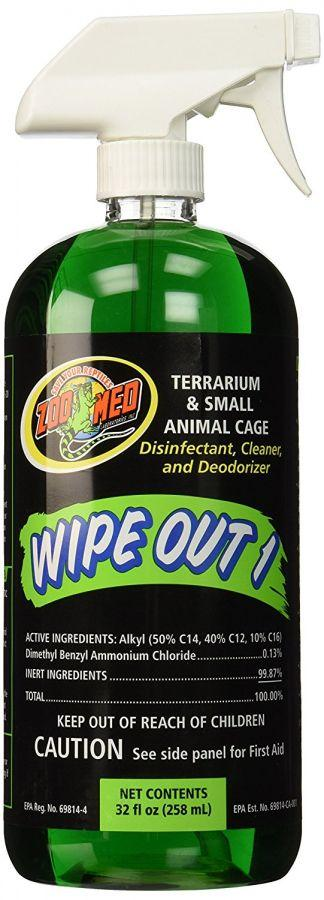 Zoo Med Wipe Out 1 - Small Animal & Reptile Terrarium Cleaner