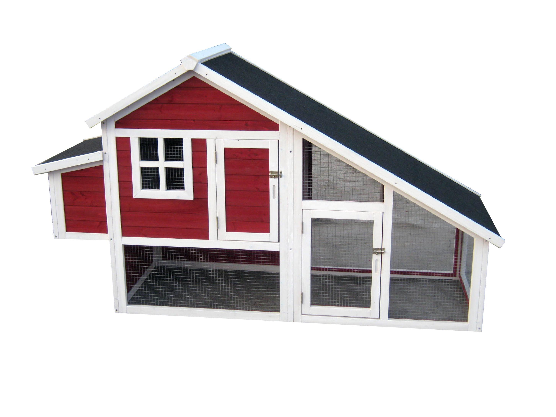 Habitat Chicken Coop, Red - PH0030010402