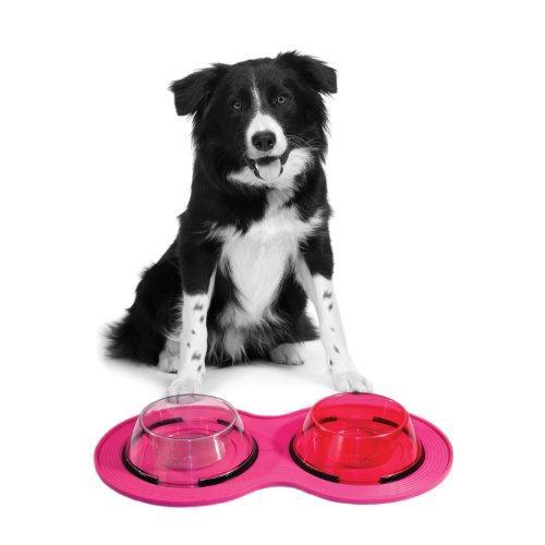 Petprojekt Small Dogmat, Dog Bowl Mat, Pink