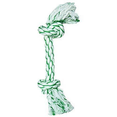 Dogit Knotted Rope Bone Toy, Mint, Large