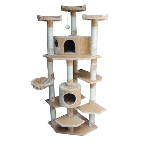 Kitty Mansions Denver Cat Tree, Beige