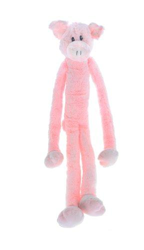 Multipets Swingin Slevin XXL Oversized 30-Inch Pink Pig Plush Dog Toy