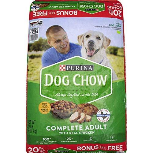 Purina Complete Dog Chow, 20.3 Lb