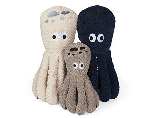 Fab Dog Floppy Octopus Dog Toy, Large