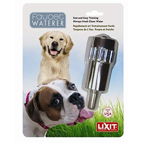 Lixit Pet Dog Waterer Faucet Outdoor Water Fountain Thirst Quencher Made In Usa